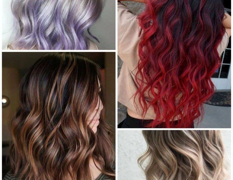 ألوان صبغات الشعر في صالونات جدة 2021
