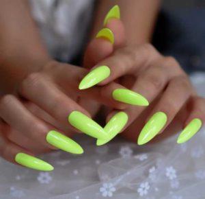 الأخضر الليموني